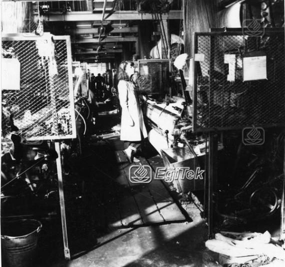 Havlu Dokuma Fabrikasında kadın işçiler, 1983
