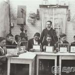 Erkek Orta Mektebi (Okulu) elişi dersi 1928